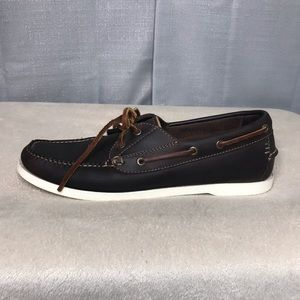 LL Bean Brown Loafers Boat Shoes Size 9